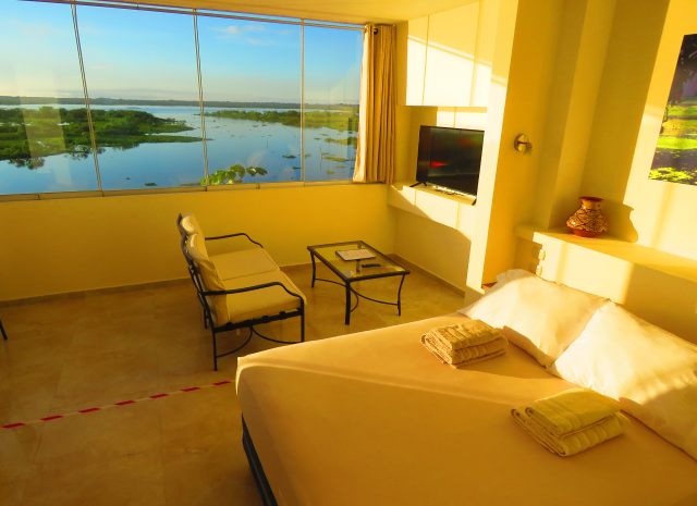 Riverside apartment, Boulevard 251, river view without balcony