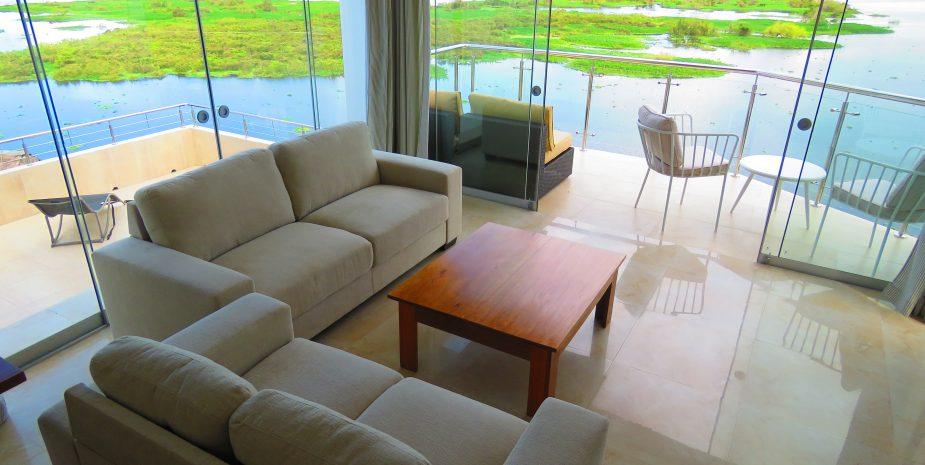 Penthouse apartment living